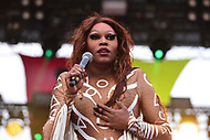 Washington, DC - June 10, 2018: RuPaul's Drag Race winner Asia O'Hara performs at the 2018 Capitol Pride concert in Washington, D.C. June 10, 2018.  (Photo by Don Baxter/Media Images International)