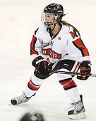 Stephanie Gavronsky (Northeastern - 44) - The Northeastern University Huskies defeated the visiting Clarkson University Golden Knights 5-2 on Thursday, January 5, 2012, at Matthews Arena in Boston, Massachusetts.