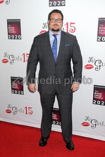 11 October 2015 - Hollywood, California - Chaz Bono. 15th Annual Les Girls Cabaret held at Avalon. Photo Credit: Byron Purvis/AdMedia