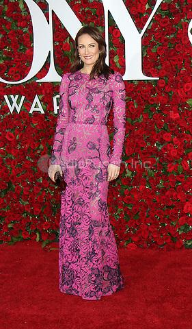 NEW YORK, NY-June 12:  Laura Benanti  at the 70th Annual Tony Awards at the Beacon Theatre in New York. NY June 12, 2016. Credit:RW/MediaPunch