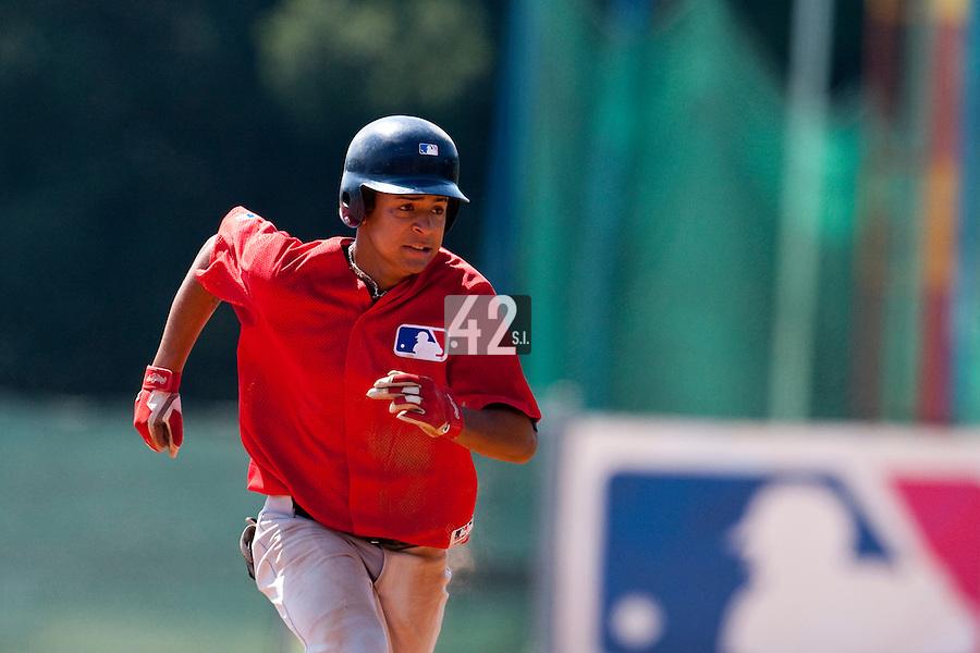 Baseball - MLB European Academy - Tirrenia (Italy) - 21/08/2009 - Raul Agueda Padilla (Spain)