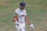 Nick Browne of Essex leaves the field having been dismissed for 75 during Essex CCC vs Somerset CCC, Specsavers County Championship Division 1 Cricket at The Cloudfm County Ground on 28th June 2018