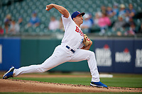 Buffalo Bisons pitcher Jacob Waguespack (35) during an International League game against the Norfolk Tides on June 21, 2019 at Sahlen Field in Buffalo, New York.  Buffalo defeated Norfolk 2-1, the first game of a doubleheader.  (Mike Janes/Four Seam Images)
