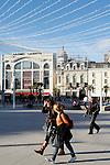 20080110 - France - Aquitaine - Pau<br /> CAFES ET PLACE CLEMENCEAU AU CENTRE VILLE PIETONNIER DE PAU.<br /> Ref : PAU_002.jpg - © Philippe Noisette.