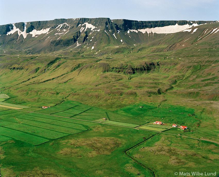 Geithamrar séð til suðurs, Húnavatnshreppur áður Svínavatnshreppur / Geithamrar viewing south, Hunavatnshreppur former Svinavatnshreppur.