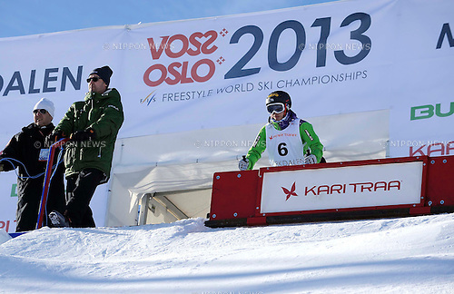 Miki Ito (JPN),.MARCH 8, 2013 - Moguls :.FIS Freestyle World Ski Championships Women's Dual Moguls Round of 16 in Voss-Myrkdalen, Norway. (Photo by Hiroyuki Sato/AFLO)