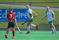 Action from the 2019 Collier Trophy Under-13 Girls' Hockey Tournament match between Manawatu and Wairarapa at National Hockey Stadium in Wellington, New Zealand on Friday, 9 October 2019. Photo: Dave Lintott / lintottphoto.co.nz