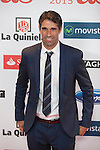 Juan Carlos Valeron attends the 2015 As Sports Awards ceremony in Madrid, Spain. December 14, 2015. (ALTERPHOTOS/Victor Blanco)