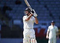 Colin de Grandhomme batting.<br /> New Zealand Blackcaps v England. 1st day/night test match. Eden Park, Auckland, New Zealand. Day 4, Sunday 25 March 2018. &copy; Copyright Photo: Andrew Cornaga / www.Photosport.nz
