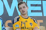 29 May 2013: Los Angeles' Robbie Rogers started the game on the bench. The North American Soccer League's Carolina RailHawks hosted Major League Soccer's Los Angeles Galaxy at WakeMed Stadium in Cary, NC in a 2013 Lamar Hunt U.S. Open Cup third round game.