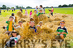 Having a hayday at the NA GAEIL GAA, family fun day on Sunday