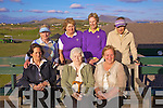 Long standing member of Waterville Golf Club Maura O'Neill was bestowed Honorary Membership of Waterville Golf Club on Sunday night last, Maura pictured here seated front centre with Jenny O'Sullivan left, Phill Curran right, back l-r; Dimpna Considine, Kathleen Cronin, Patricia Gibson and Catherine Moran...