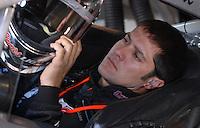 Mar 30, 2007; Martinsville, VA, USA; Nascar Nextel Cup Series driver David Stremme (40) during practice for the Goody's Cool Orange 500 at Martinsville Speedway. Martinsville marks the second race for the new car of tomorrow. Mandatory Credit: Mark J. Rebilas