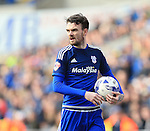 Cardiff's Scott Malone in action during the Sky Bet Championship League match at The Cardiff City Stadium.  Photo credit should read: David Klein/Sportimage
