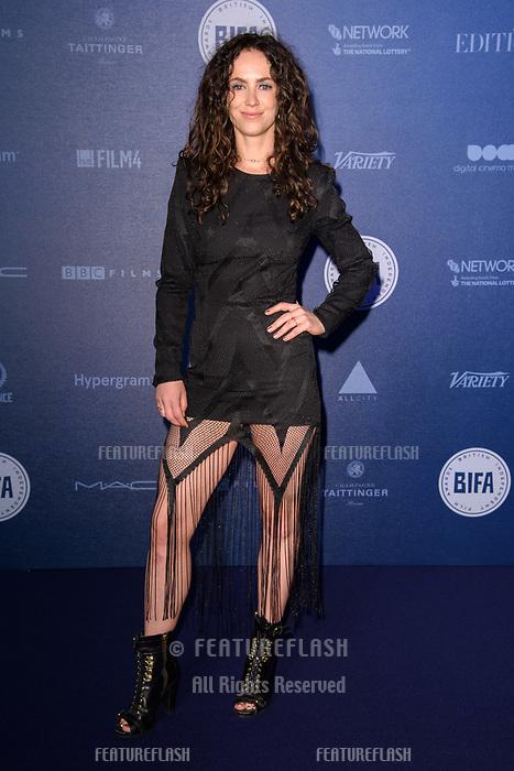 Amy Manson at the British Independent Film Awards 2017 at Old Billingsgate, London, UK. <br /> 10 December  2017<br /> Picture: Steve Vas/Featureflash/SilverHub 0208 004 5359 sales@silverhubmedia.com