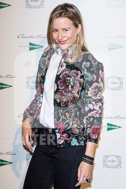 Maria de Leon Castillejo attend Emidio Tucci parade of the new autumn / winter collection in Madrid, Spain. March 30, 2017. (ALTERPHOTOS / Rodrigo Jimenez)