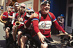 Old timers during Stage 3 of the 104th edition of the Tour de France 2017, running 212.5km from Verviers, Belgium to Longwy, France. 3rd July 2017.<br /> Picture: ASO/P.Ballet | Cyclefile<br /> <br /> All photos usage must carry mandatory copyright credit (&copy; Cyclefile | ASO/P.Ballet)
