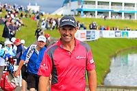 Padraig Harrington (IRL) finishing on the 18th with a +1during Round 2 of the 100th Open de France, played at Le Golf National, Guyancourt, Paris, France. 01/07/2016. <br /> Picture: Thos Caffrey | Golffile<br /> <br /> All photos usage must carry mandatory copyright credit   (&copy; Golffile | Thos Caffrey)
