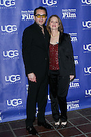 SANTA BARBARA, CA - JANUARY 31: Roger Durlin, Melissa Leo at the 29th Santa Barbara International Film Festival - Outstanding Director Award Honoring David O. Russell held at Arlington Theatre on January 31, 2014 in Santa Barbara, California. (Photo by David Acosta/Celebrity Monitor)