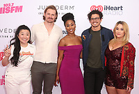 CARSON, CA - June 1: Sherry Cola, Josh Pence, Zuri Adele, Tommy Martinez, Emma Hunton, at 2019 iHeartRadio Wango Tango Presented By The JUVÉDERM® Collection Of Dermal Fillers at Dignity Health Sports Park in Carson, California on June 1, 2019.   <br /> CAP/MPI/SAD<br /> ©SAD/MPI/Capital Pictures