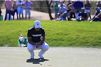 Byeong Hun An (KOR) on the 6th green during Saturday's Round 3 of the Waste Management Phoenix Open 2018 held on the TPC Scottsdale Stadium Course, Scottsdale, Arizona, USA. 3rd February 2018.<br /> Picture: Eoin Clarke | Golffile<br /> <br /> <br /> All photos usage must carry mandatory copyright credit (&copy; Golffile | Eoin Clarke)