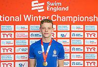 Picture by Allan McKenzie/SWpix.com - 13/12/2017 - Swimming - Swim England Winter Championships - Ponds Forge International Sport Centre - Sheffield, England - Matthew Richards.