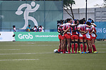 Japan team group (JPN), <br /> AUGUST 31, 2018 - Rugby : Women's Preliminary round Group B match between Japan 26-0 Thailand at Gelora Bung Karno Rugby Field during the 2018 Jakarta Palembang Asian Games in Jakarta, Indonesia. <br /> (Photo by MATSO.K/AFLO SPORT)