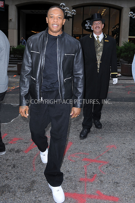 WWW.ACEPIXS.COM . . . . . ....September 30 2009, New York City....Producer and recording artist Dr. Dre at the Heartbeats by Lady Gaga headphones unveiling at GILT at The New York Palace Hotel on September 30, 2009 in New York City.....Please byline: KRISTIN CALLAHAN - ACEPIXS.COM.. . . . . . ..Ace Pictures, Inc:  ..(212) 243-8787 or (646) 679 0430..e-mail: picturedesk@acepixs.com..web: http://www.acepixs.com