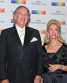 Norman Brownstein, Chairman of the Board, Brownstein Hyatt Farber Schreck, and his wife, Sunny, arrive for the formal Artist's Dinner honoring the recipients of the 38th Annual Kennedy Center Honors hosted by United States Secretary of State John F. Kerry at the U.S. Department of State in Washington, D.C. on Saturday, December 5, 2015. The 2015 honorees are: singer-songwriter Carole King, filmmaker George Lucas, actress and singer Rita Moreno, conductor Seiji Ozawa, and actress and Broadway star Cicely Tyson.<br /> Credit: Ron Sachs / Pool via CNP