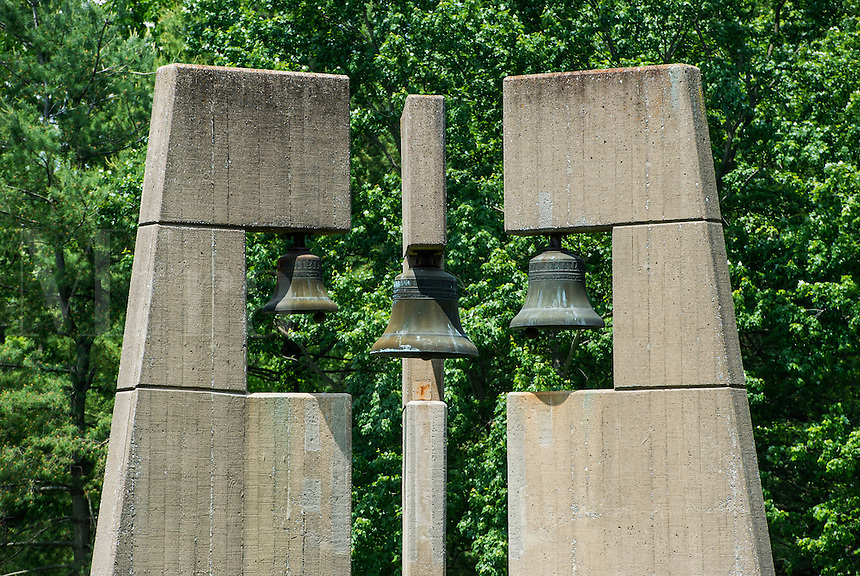 Bell tower, Daylesford Abbey, Paoli, Pennsylvania, USA
