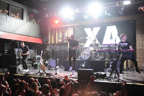 FORT LAUDERDALE FL - JUNE 09: Noah Feldshuh, Sam Harris, Adam Levin and Casey Harris of X Ambassadors perform at Revolution on June 9, 2016 in Fort Lauderdale, Florida. Credit: mpi04/MediaPunch