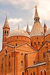 """Basilica Pontificia di Sant'Antonio, locally known in Padua as """"il Santo;"""" the Basilica dates back to the 13th century"""