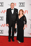 CULVER CITY, CA. - June 10: AFI Board Member Ken Howard and wife Linda Fetters  arrives at the 38th Annual Lifetime Achievement Award Honoring Mike Nichols held at Sony Pictures Studios on June 10, 2010 in Culver City, California.