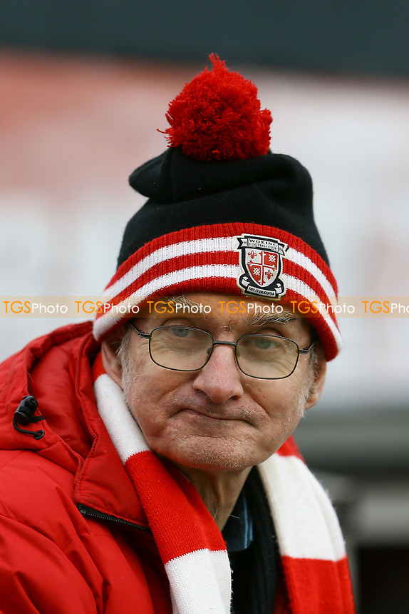 Woking fan ahead of Woking vs Watford, Emirates FA Cup Football at The Laithwaite Community Stadium on 6th January 2019