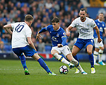 Ross Barkley of Everton in action during the English Premier League match at Goodison Park Stadium, Liverpool. Picture date: April 9th 2017. Pic credit should read: Simon Bellis/Sportimage