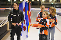 SCHAATSEN: HEERENVEEN: IJsstadion Thialf, 30/31-01-15, Viking Race, Internationaal Jeugdtoernooi 11-16 jaar, Marrit Leenstra, ©foto Martin de Jong