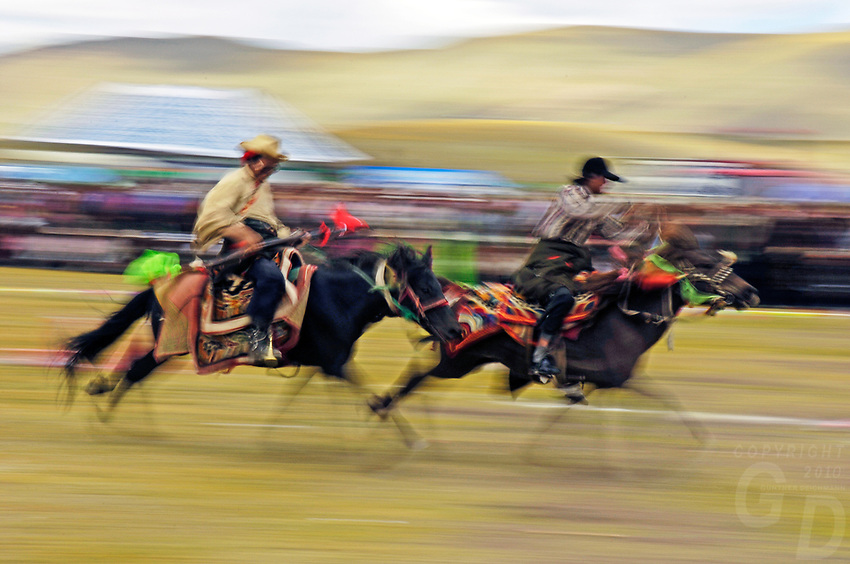 Tibet's province of Nakchu in Tibet hosts many festivals throughout the year, but one stands out more than any other; it is the highest horse racing festival in the world – a spectacle of colour, festivities and endurance for participants and visitors alike.<br />