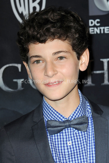 WWW.ACEPIXS.COM<br /> September 15, 2014 New York City<br /> <br /> David Mazouz attending the 'Gotham' Series Premiere at The New York Public Library onSeptember 15, 2014 in New York City.<br /> <br /> Please byline: Kristin Callahan/AcePictures<br /> <br /> ACEPIXS.COM<br /> <br /> Tel: (212) 243 8787 or (646) 769 0430<br /> e-mail: info@acepixs.com<br /> web: http://www.acepixs.com