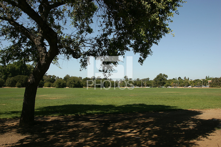 11 August 2006: Photographs of the Sand Hill intramural fields on the Stanford University campus in Stanford, CA.