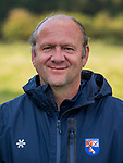 BLOEMENDAAL - coach Michel van den Heuvel (Bldaal) Heren I van HC Bloemendaal , seizoen 2019/2020.   COPYRIGHT KOEN SUYK