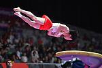 Fuya Maeno (JPN), <br /> AUGUST 20, 2018 - Artistic Gymnastics : Men's Individual All-Around Vault at JIEX Kemayoran Hall D during the 2018 Jakarta Palembang Asian Games in Jakarta, Indonesia. <br /> (Photo by MATSUO.K/AFLO SPORT)
