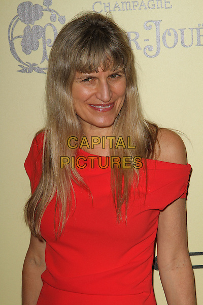 Catherine Hardwicke.5th Annual Women In Film Pre-Oscar Cocktail Party held at Cecconi's Restaurant, Los Angeles, California, USA..February 24th, 2012.half length dress red orange off the shoulder  .CAP/ADM/FS.©Faye Sadou/AdMedia/Capital Pictures.