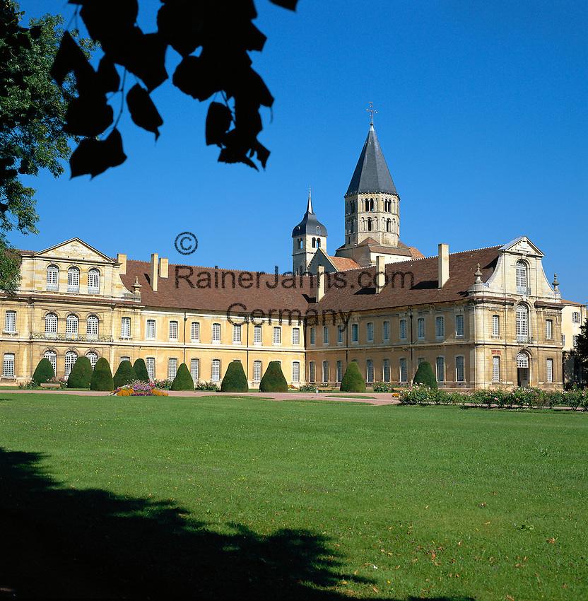 France, Burgundy, Saone & Loire, Cluny: Cluny Abbey   Frankreich, Burgund, Saone & Loire, Cluny: Die Abtei von Cluny