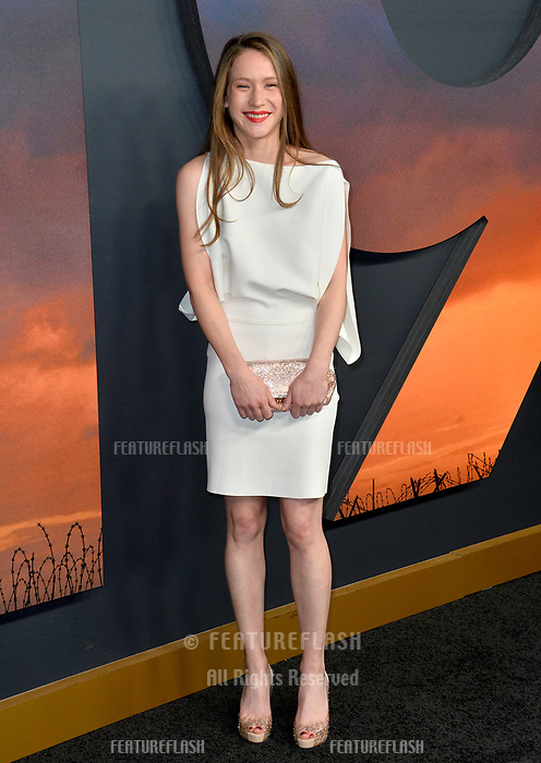 """LOS ANGELES, USA. December 19, 2019: Claire Duburcq at the premiere of """"1917"""" at the TCL Chinese Theatre.<br /> Picture: Paul Smith/Featureflash"""