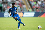 Leicester City FC midfielder Daniel Amartey in action during the Premier League Asia Trophy match between Leicester City FC and West Bromwich Albion at Hong Kong Stadium on 19 July 2017, in Hong Kong, China. Photo by Yu Chun Christopher Wong / Power Sport Images