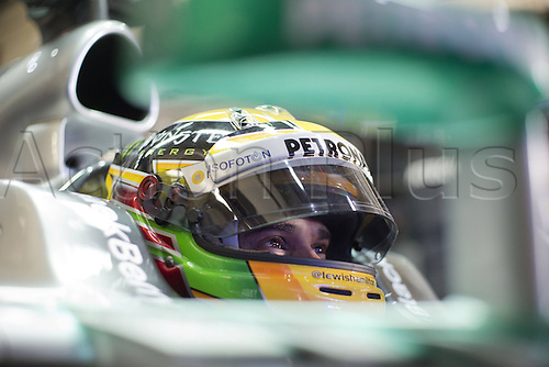 06.02.2013 Jerez, Spain. FIA Formula One World Championship 2013 F1 Testing and Launch. Lewis Hamiton Mercedes AMG team.