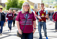 Photographer Alex Dodd/CameraSport<br /> <br /> The Premier League - Burnley v Bournemouth - Sunday 13th May 2018 - Turf Moor - Burnley<br /> <br /> World Copyright &copy; 2018 CameraSport. All rights reserved. 43 Linden Ave. Countesthorpe. Leicester. England. LE8 5PG - Tel: +44 (0) 116 277 4147 - admin@camerasport.com - www.camerasport.com