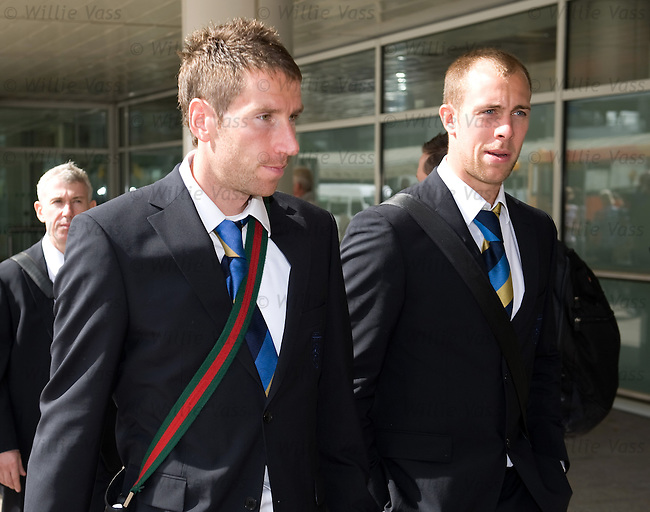 Kirk Broadfoot and Steven Whittaker