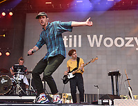 SAN FRANCISCO, CALIFORNIA - AUGUST 09: Still Woozy - Sven Gamsky and Tommy perform during the 2019 Outside Lands music festival at Golden Gate Park on August 09, 2019 in San Francisco, California. Photo: imageSPACE/MediaPunch<br /> CAP/MPI/ISAB<br /> ©ISAB/MPI/Capital Pictures