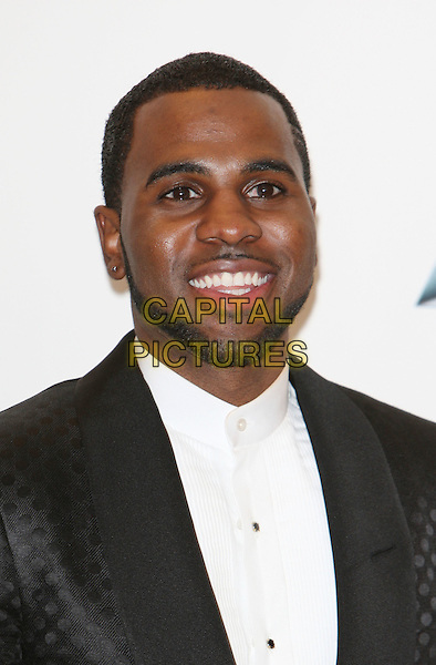 Jason Derulo.The press room at the 2012 Billboard Music Awards at MGM Grand in Las Vegas, Nevada, USA..May 20th, 2012.headshot portrait black suit white shirt beard facial hair .CAP/ROT/TM.©Tony Michaels/Roth Stock/Capital Pictures